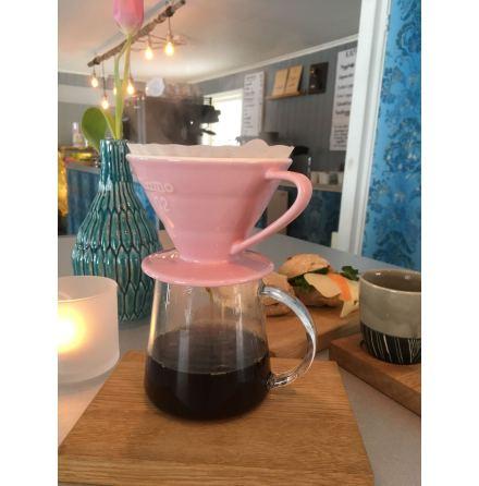 Kaffekanna i glas