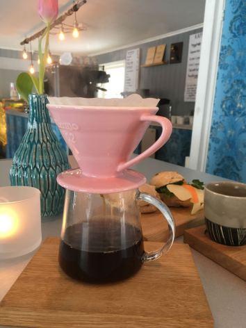 Kaffekanna i glas, 0,5 liter